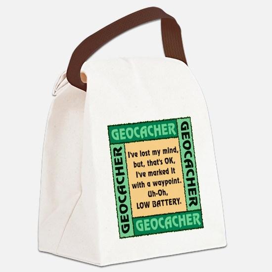 GEOCACHER Canvas Lunch Bag