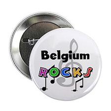 "Belgium Rocks 2.25"" Button"