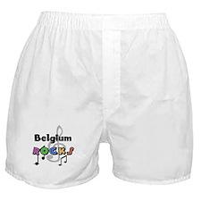 Belgium Rocks Boxer Shorts