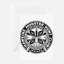 HAWKINS MONSTER HUNT CLUB Greeting Card