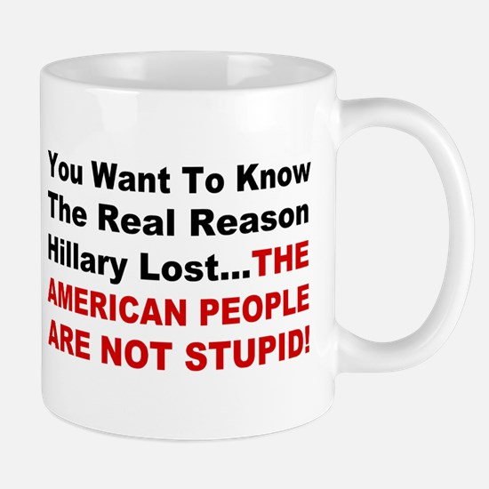 Hillary Lost Mug