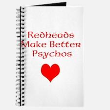 Redheads Make Better Psychos Journal