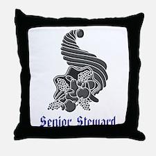 Senior Steward Throw Pillow