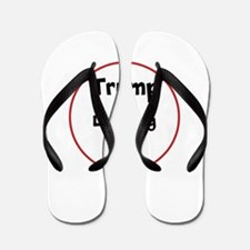 Trump is laughing at the USA Flip Flops