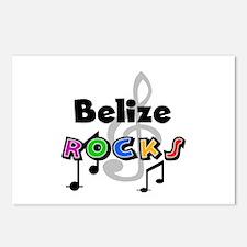Belize Rocks Postcards (Package of 8)