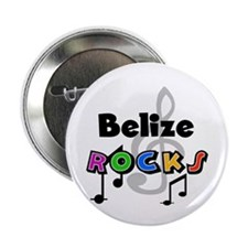 "Belize Rocks 2.25"" Button"