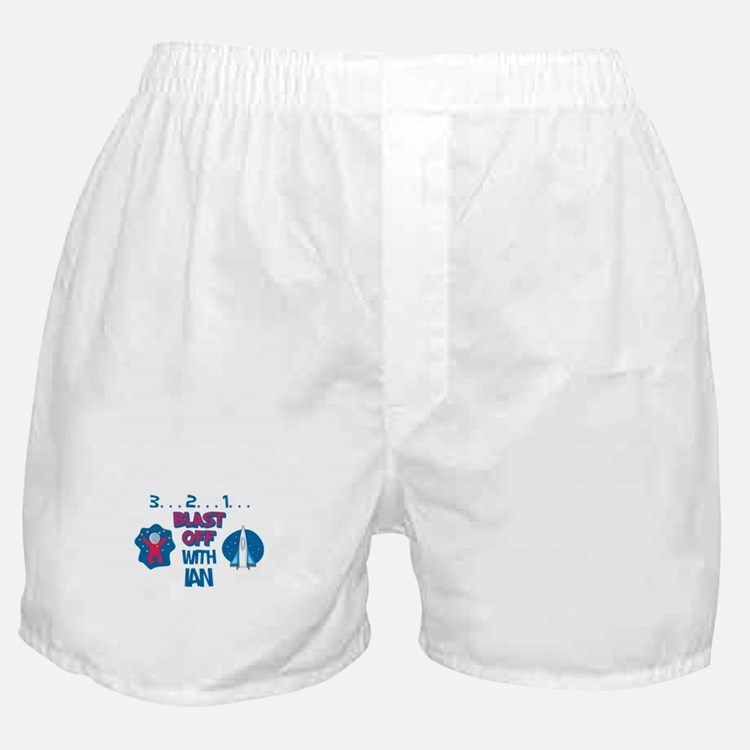 Blast Off with Ian Boxer Shorts