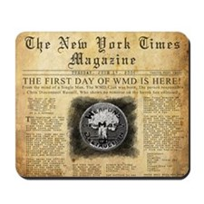 WMD Newspaper Mousepad Design