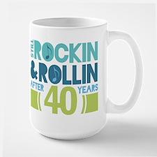 40th Anniversary Rock N Roll Mugs
