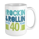 40th anniversary Large Mugs (15 oz)