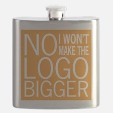 Bigger Logo Flask