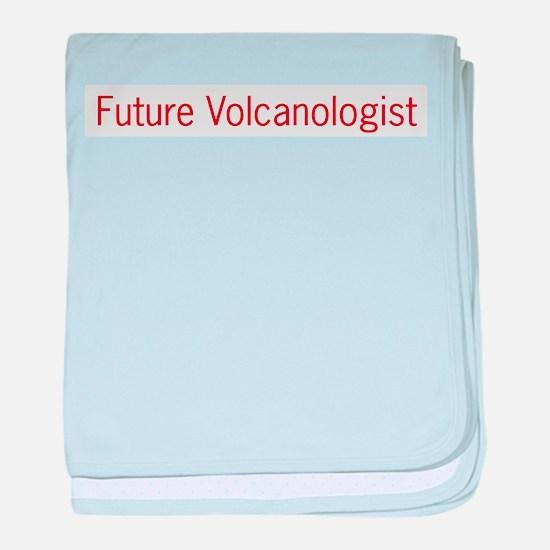 Future Volcanologist baby blanket