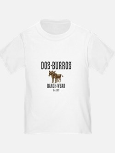 Dos Burros Logo T-Shirt T-Shirt