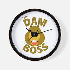 The Dam Boss Wall Clock
