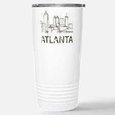Cute Atlanta Travel Mug