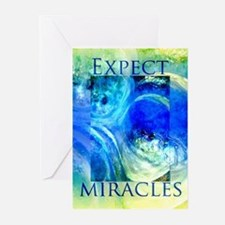 RECOVERY MIRACLE ART CARDS Greeting Cards