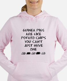 Guinea Pigs Are Like Potato Chips Sweater Sweatshi