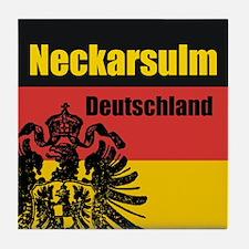 Neckarsulm Deutschland  Tile Coaster