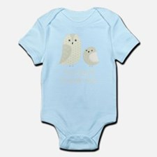 My Aunt Loves Me Owls Body Suit