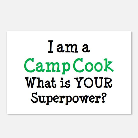 camp cook Postcards (Package of 8)