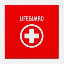 Lifeguard: Lifeguard (White) Tile Coaster