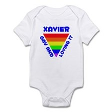 Xavier Gay Pride (#005) Infant Bodysuit