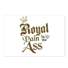 Royal Pain in the Ass Postcards (Package of 8)
