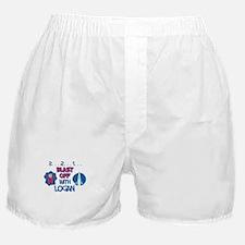 Blast Off with Logan Boxer Shorts