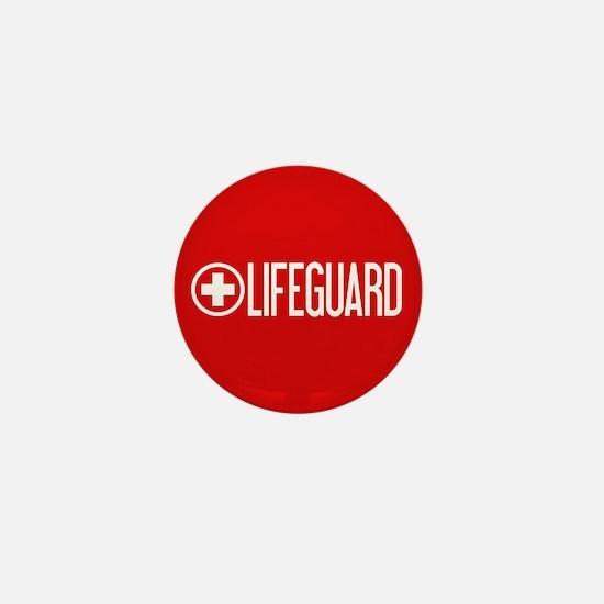 Lifeguard: Lifeguard (White) Mini Button