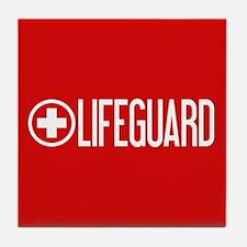 Lifeguard: Lifeguard (White) Tile Coaster