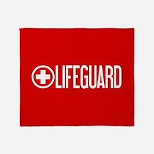 Lifeguard: Lifeguard (White) Throw Blanket