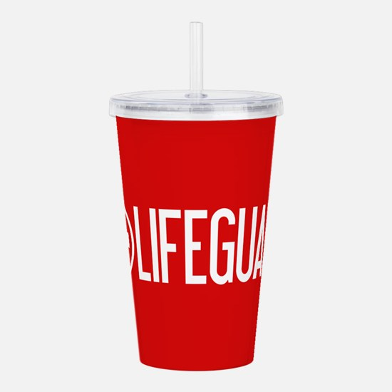 Lifeguard: Lifeguard (White) Acrylic Double-wall T