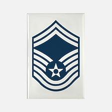 USAF-SMSgt-Black-Shirt Magnets