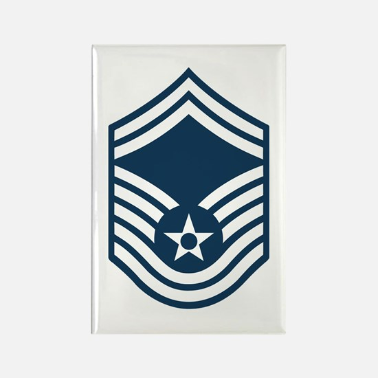 USAF-SMSgt-Black-Shirt Magnets
