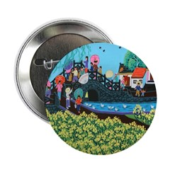 Chinese Folkart Buttons (10 pack)