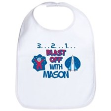 Blast Off with Mason Bib