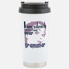 I am silently correctin Travel Mug