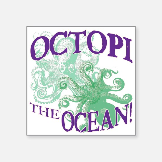 Octopi the Ocean Light Sticker