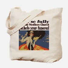 Live so fully Tote Bag
