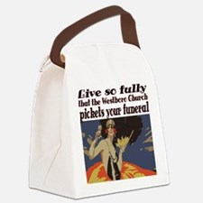 Live so fully Canvas Lunch Bag