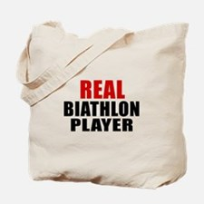 Real Biathlon Tote Bag