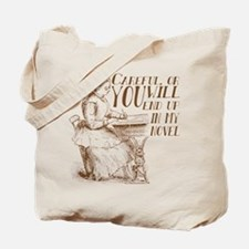 Funny Author Novel Meme Tote Bag