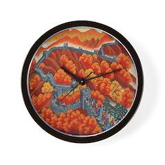 Great Wall of China Wall Clock