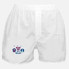 Blast Off with Nolan Boxer Shorts