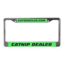CATNIP DEALER License Plate Frame