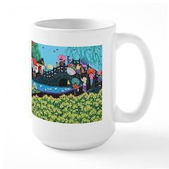 Chinese Folkart Large Mug