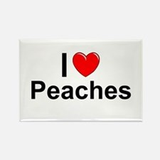 Peaches Rectangle Magnet