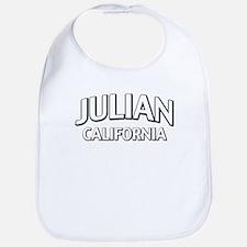 Julian CA Baby Bib