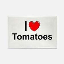 Tomatoes Rectangle Magnet