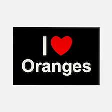 Oranges Rectangle Magnet